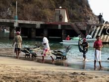 fishermen at Oaxaca coast